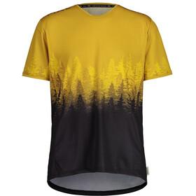 Maloja DrachenkopfM. Multi 1/2 Short Sleeve Multisport Jersey Men, żółty/czarny